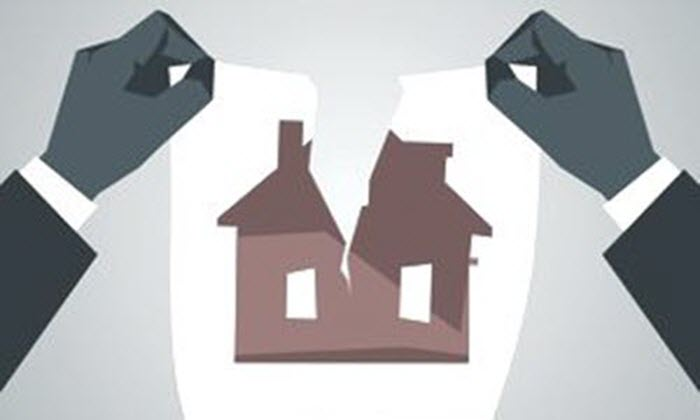selling house when divorcing